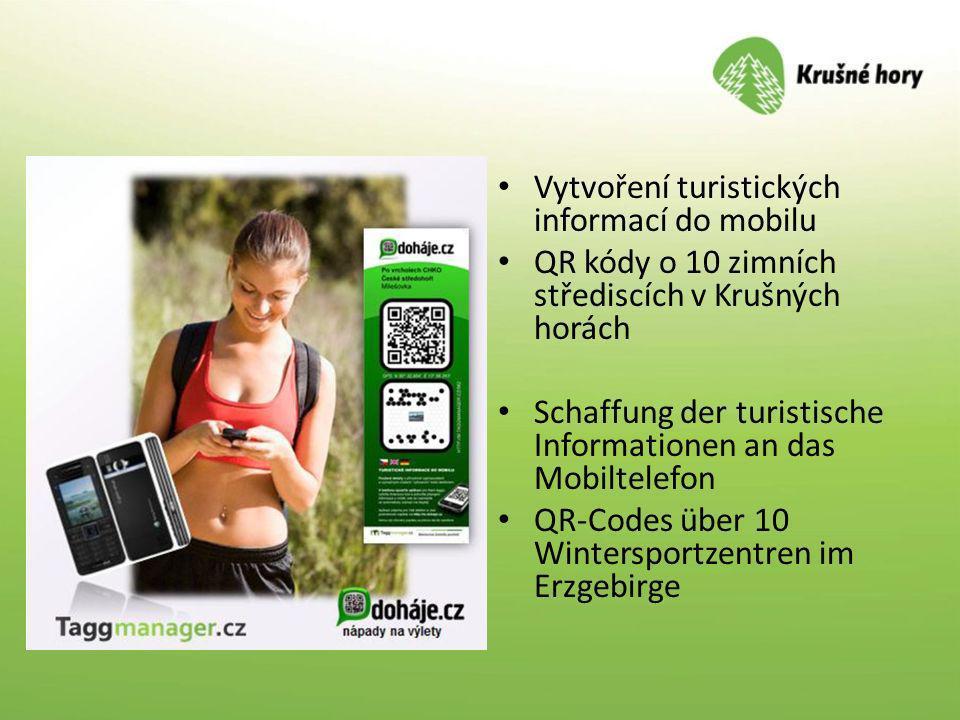 Vytvoření turistických informací do mobilu
