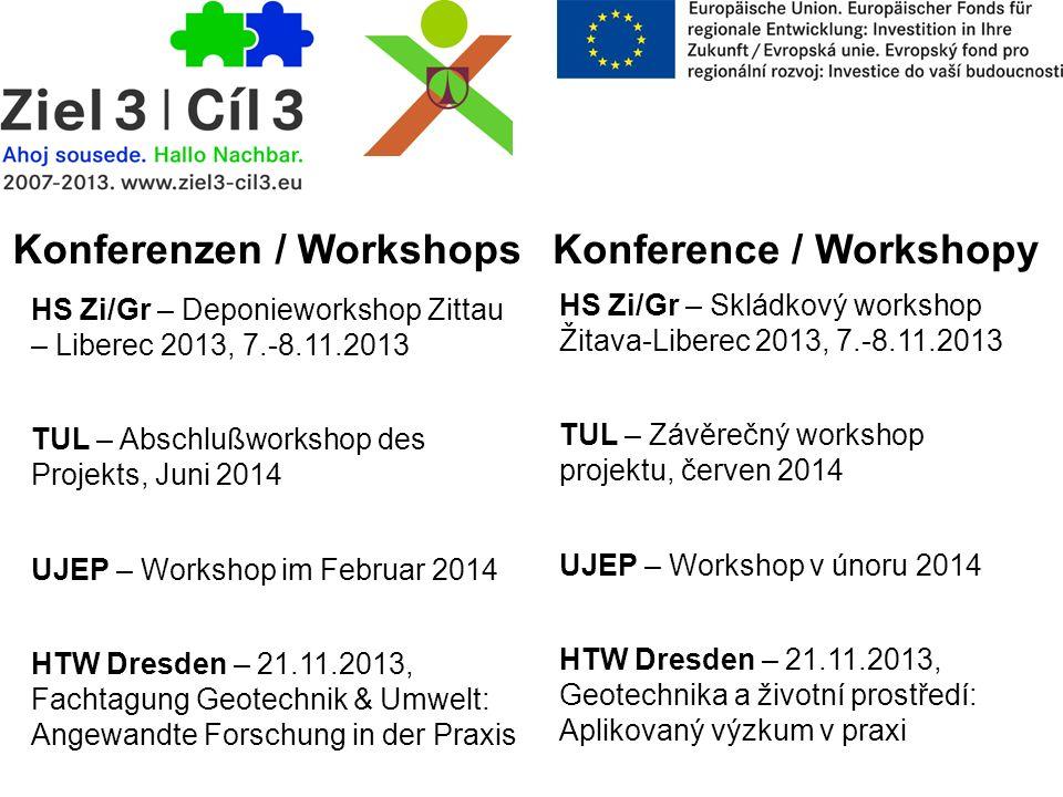 Konferenzen / Workshops Konference / Workshopy