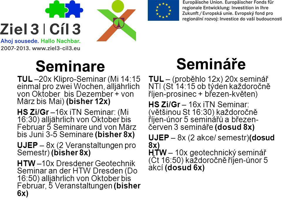 Semináře Seminare.