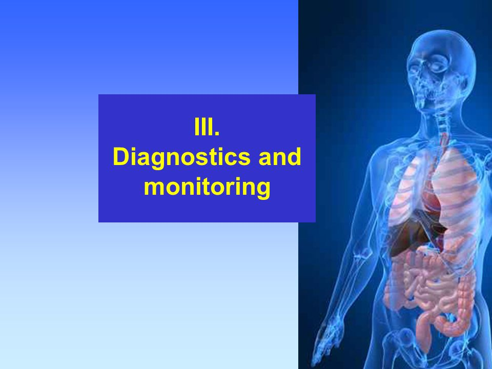 Diagnostics and monitoring