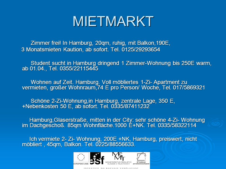 MIETMARKT Zimmer frei! In Hamburg, 20qm, ruhig, mit Balkon,190E,