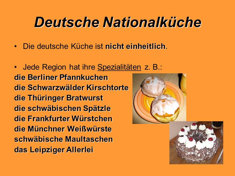 Deutsche Nationalküche
