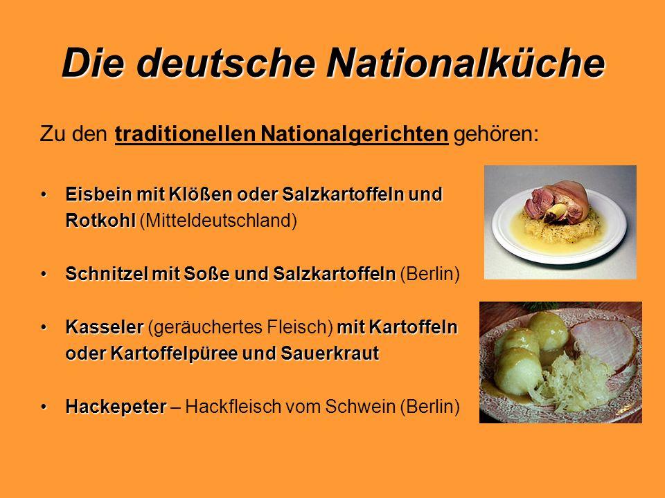 Die deutsche Nationalküche