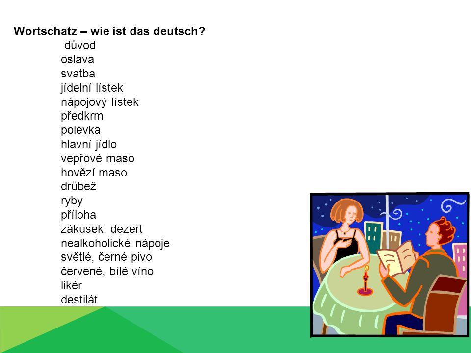 Wortschatz – wie ist das deutsch