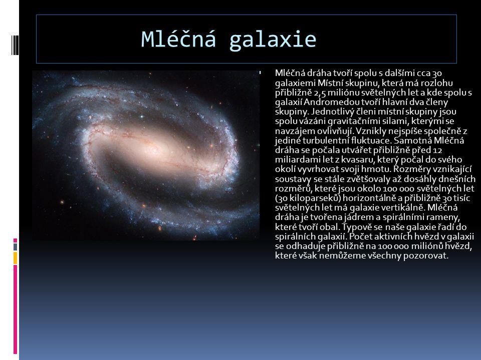 Mléčná galaxie