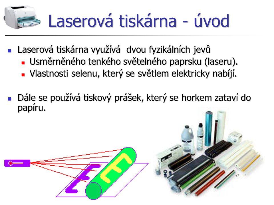 Laserová tiskárna - úvod