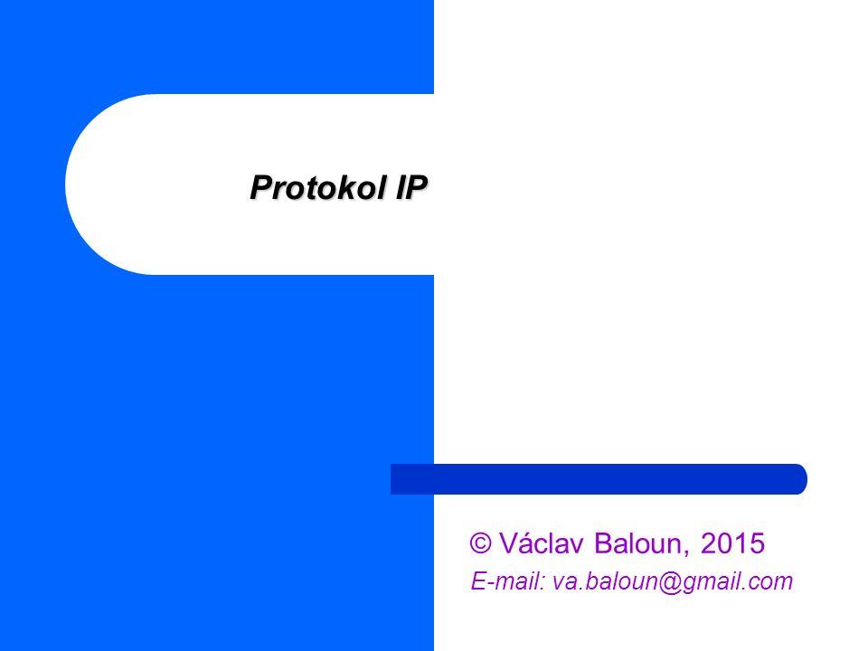 © Václav Baloun, 2015 E-mail: va.baloun@gmail.com