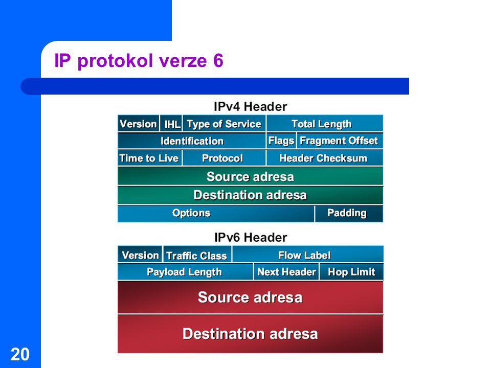IP protokol verze 6