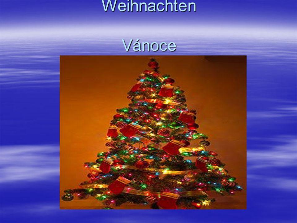 Weihnachten Vánoce