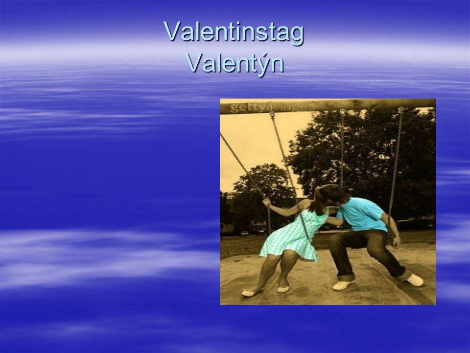 Valentinstag Valentýn