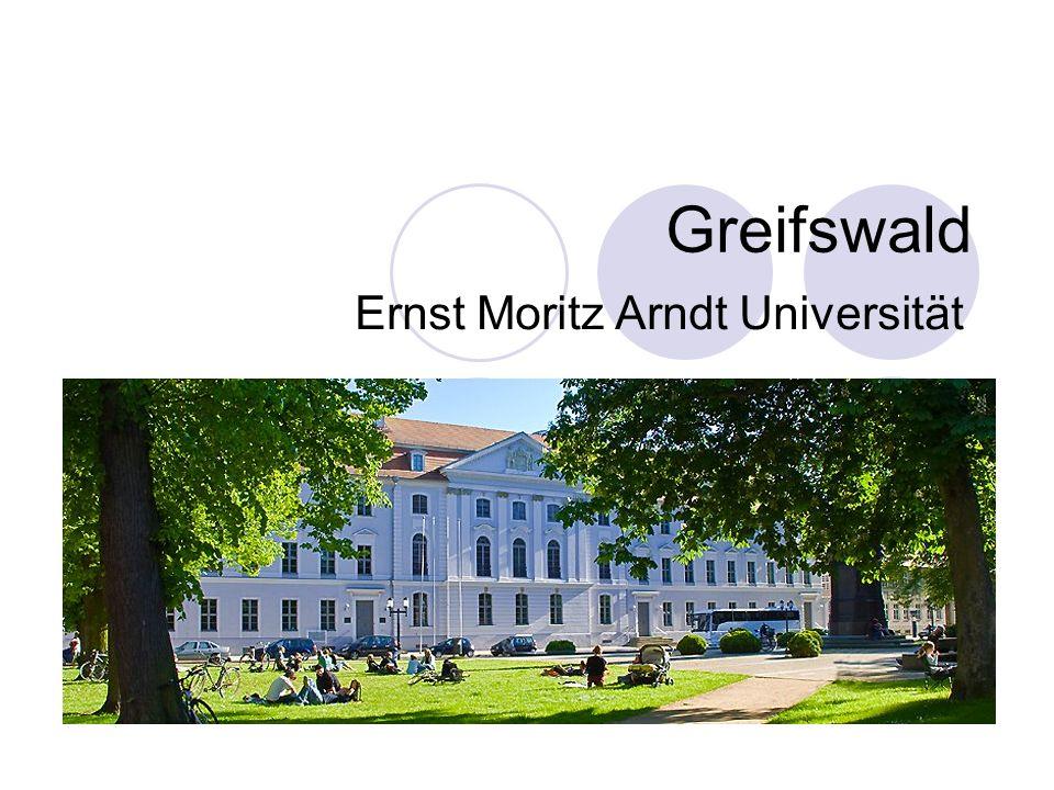 Ernst Moritz Arndt Universität