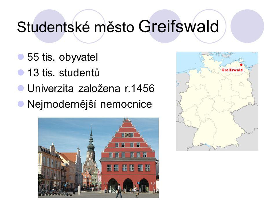 Studentské město Greifswald