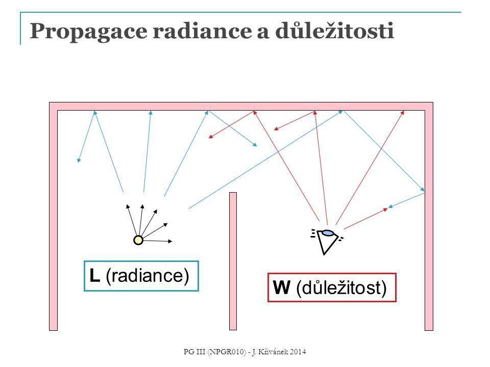 Propagace radiance a důležitosti