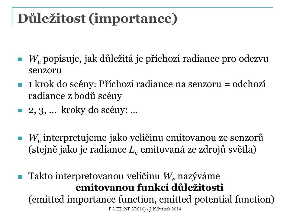 Důležitost (importance)