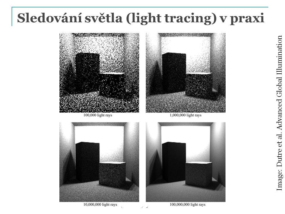Sledování světla (light tracing) v praxi
