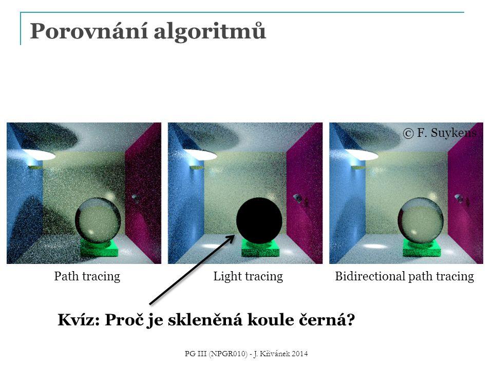 PG III (NPGR010) - J. Křivánek 2014