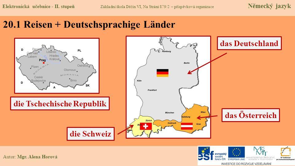 20.1 Reisen + Deutschsprachige Länder