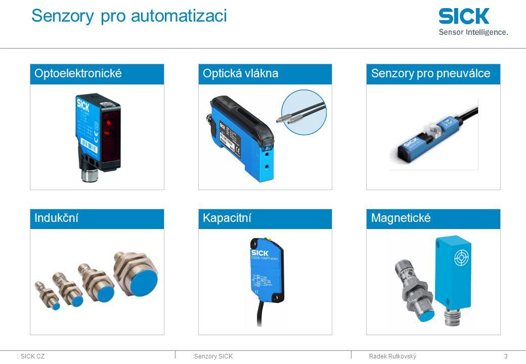 Senzory pro automatizaci