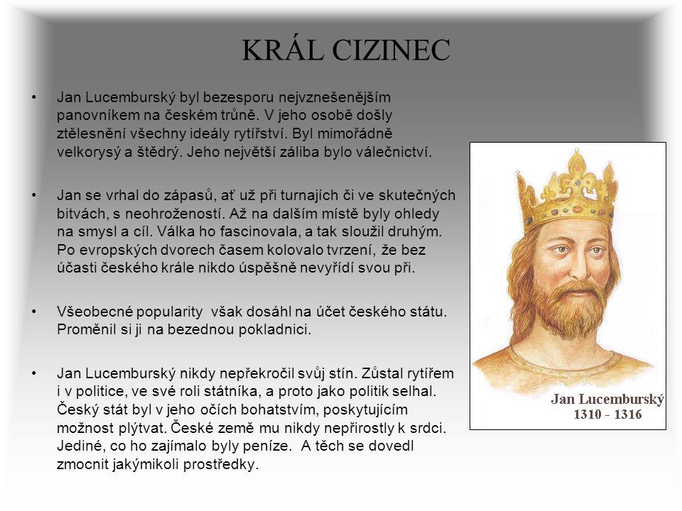 KRÁL CIZINEC