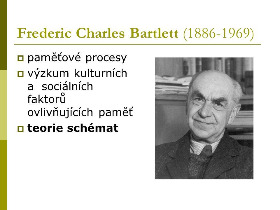 Frederic Charles Bartlett (1886-1969)
