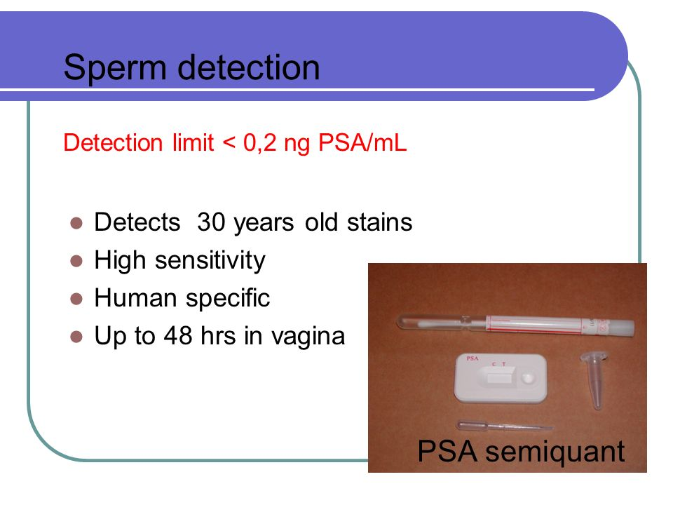 Detection limit < 0,2 ng PSA/mL