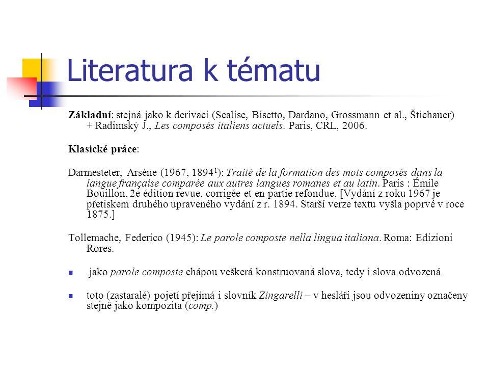 Literatura k tématu