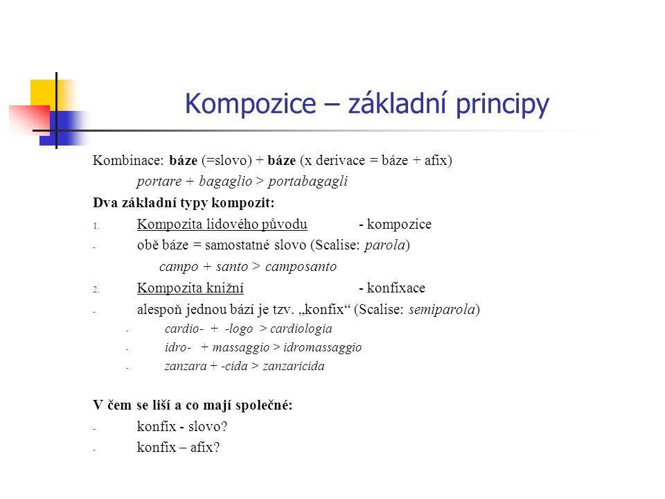 Kompozice – základní principy