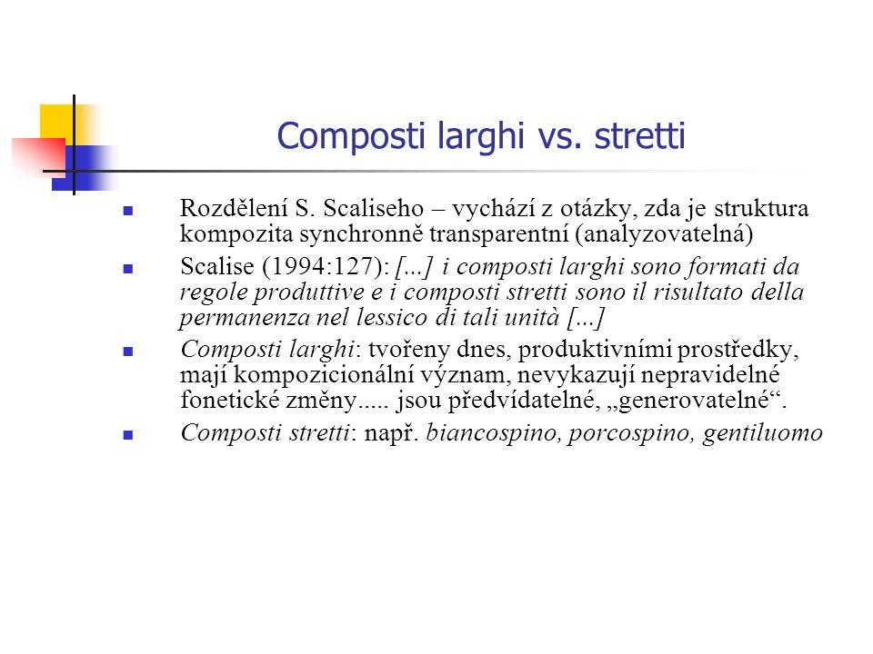 Composti larghi vs. stretti