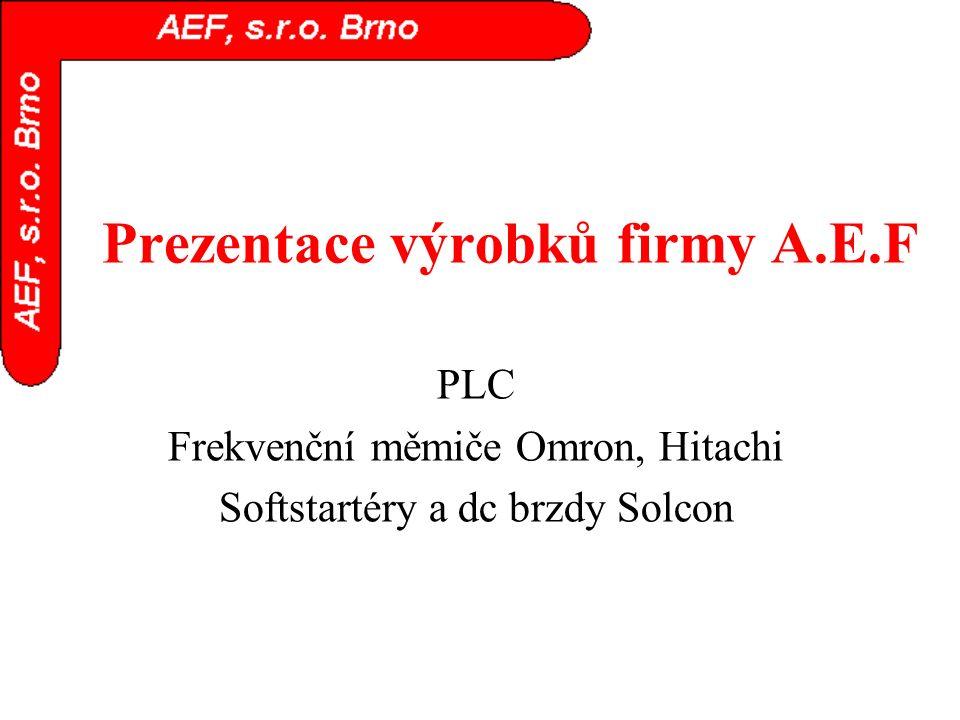 Prezentace výrobků firmy A.E.F