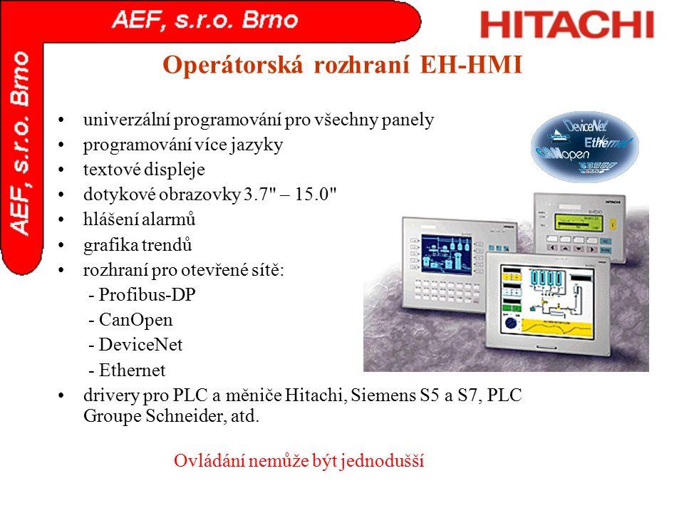 Operátorská rozhraní EH-HMI