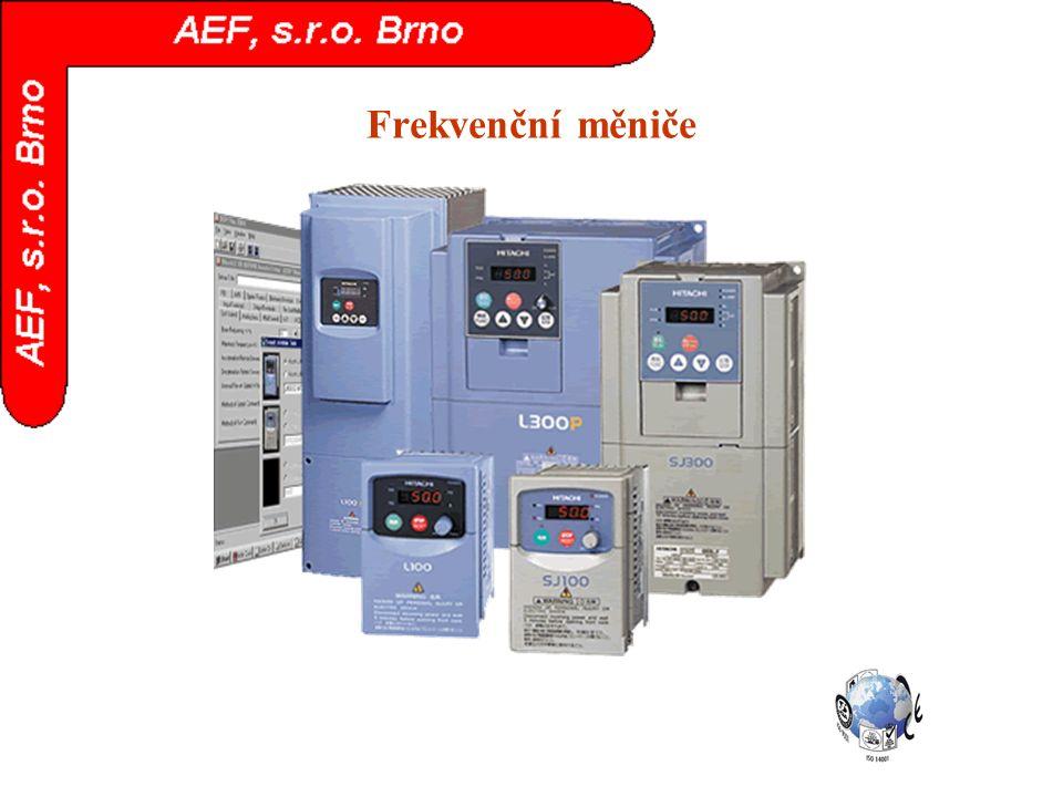 Frekvenční měniče