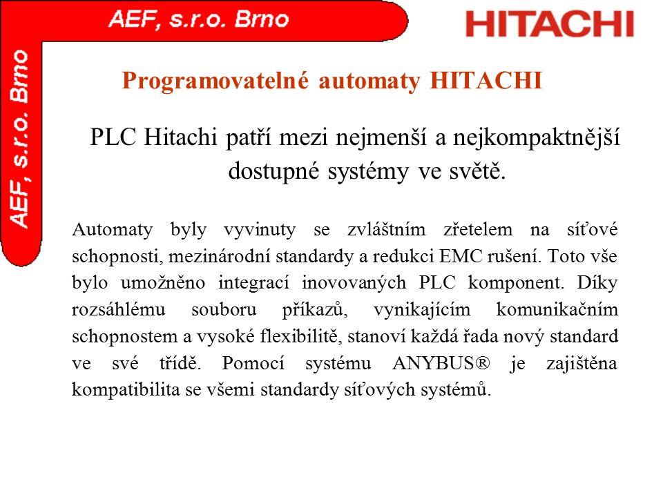 Programovatelné automaty HITACHI