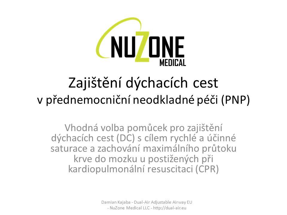 Zajištění dýchacích cest v přednemocniční neodkladné péči (PNP)