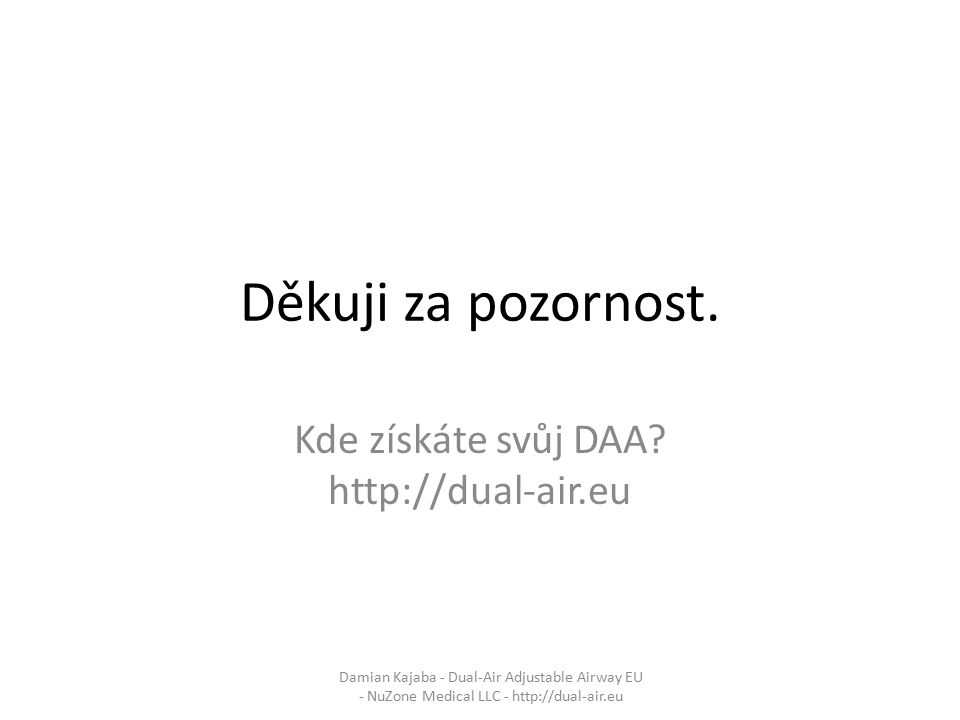 Kde získáte svůj DAA http://dual-air.eu