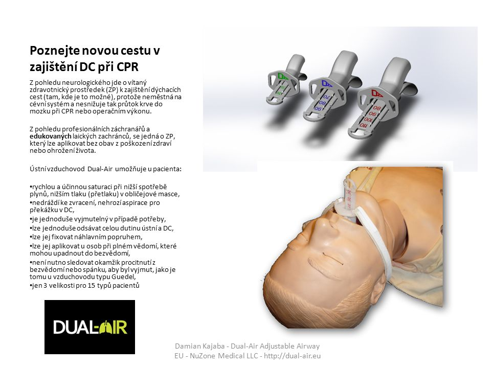 Poznejte novou cestu v zajištění DC při CPR