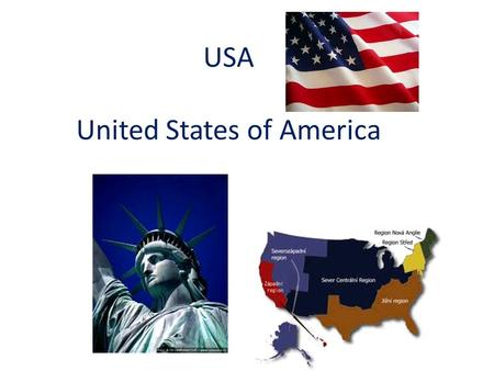 USA United States of America