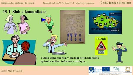 Cesky Jazyk A Literatura Trida P1a 1 Rocnik Studijni I Ucebni