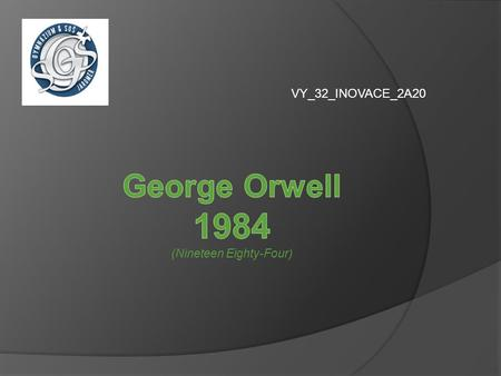 George Orwell 1984 (Nineteen Eighty-Four)