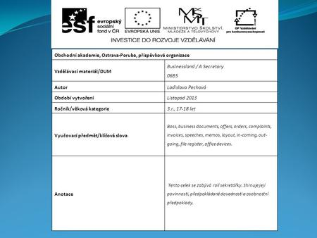 František BULAVA STANAG ratification + implementation and STANREC ...