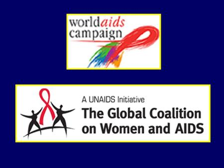 The theme for World AIDS Day Women, Girls, HIV and AIDS