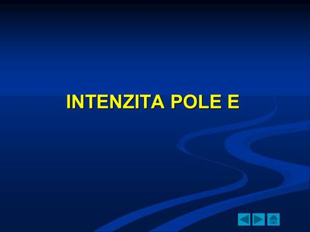 INTENZITA POLE E.