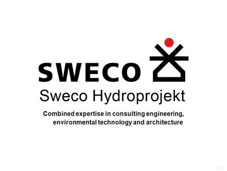1 Combined expertise in consulting engineering, environmental technology and architecture.