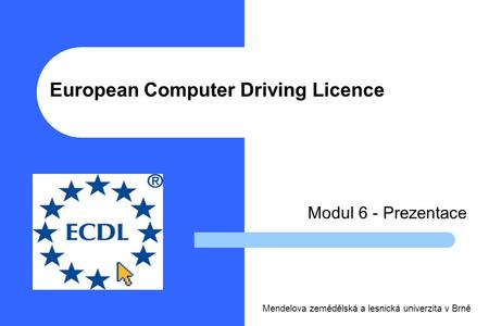 European Computer Driving Licence