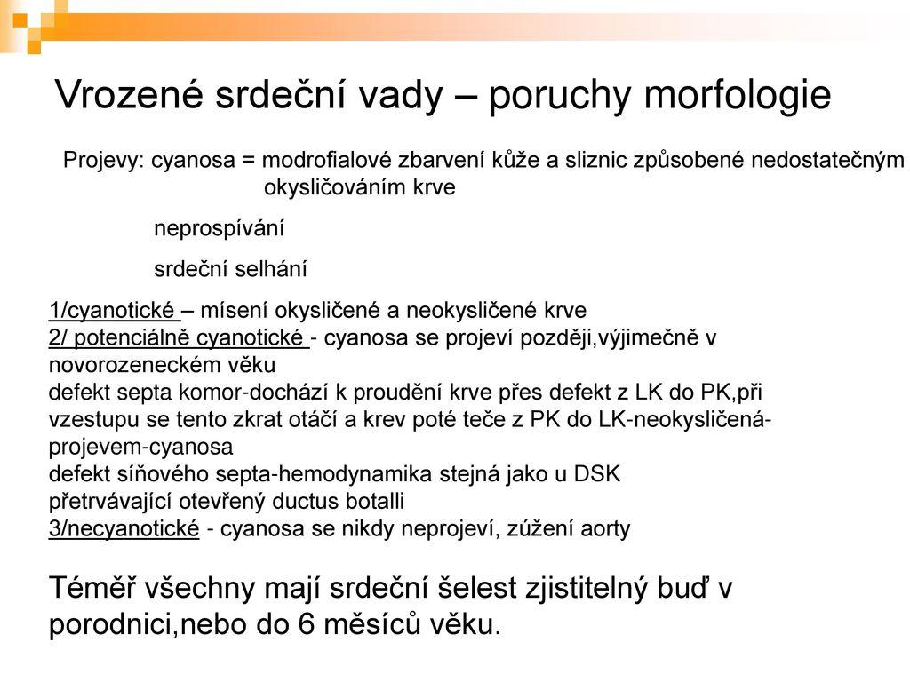 Nemoci Cevni Soustavy Vysetrovaci Metody V Pediatrii Ppt Stahnout