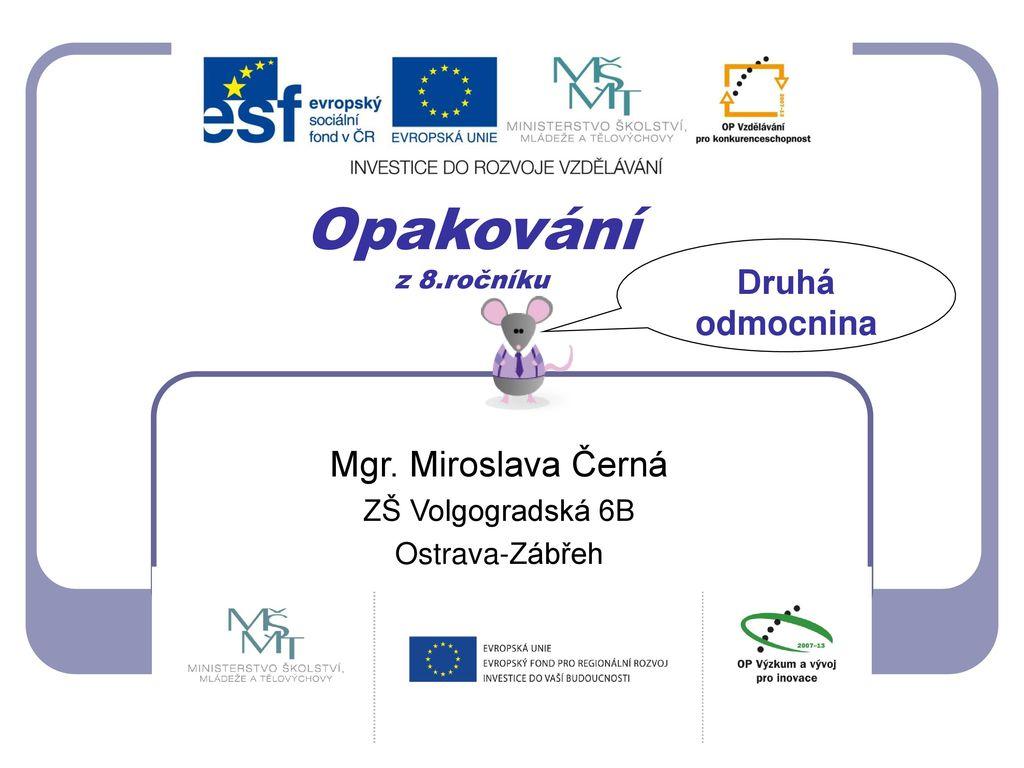 picture Miroslava Cerna