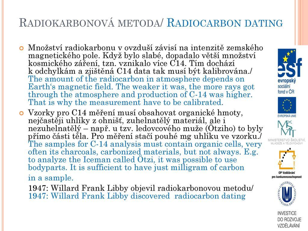 jaký je význam datování radiokarbonů