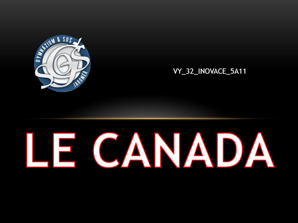 LE CANADA VY_32_INOVACE_5A11