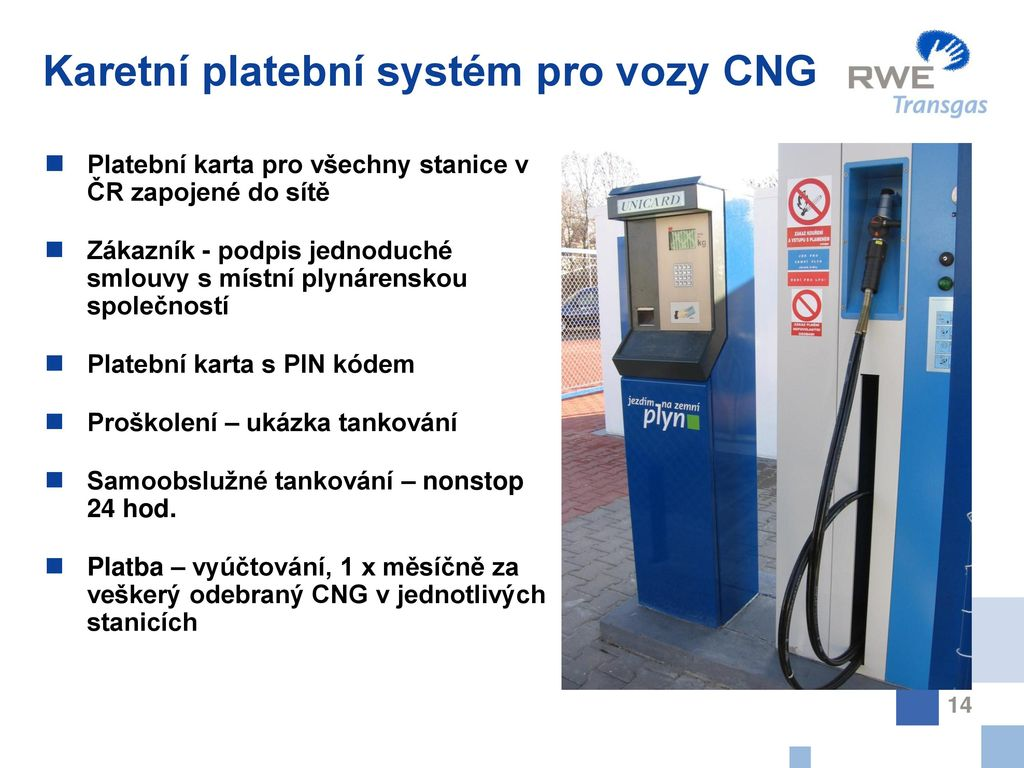 Aktivity Rwe Pro Rozvoj Cng Ppt Stahnout