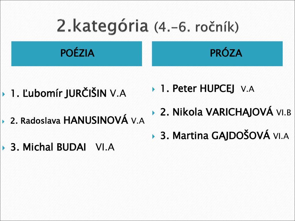464e34cc6 Školské kolo Hviezdoslavov Kubín 2014 POÉZIA a PRÓZA - ppt stáhnout