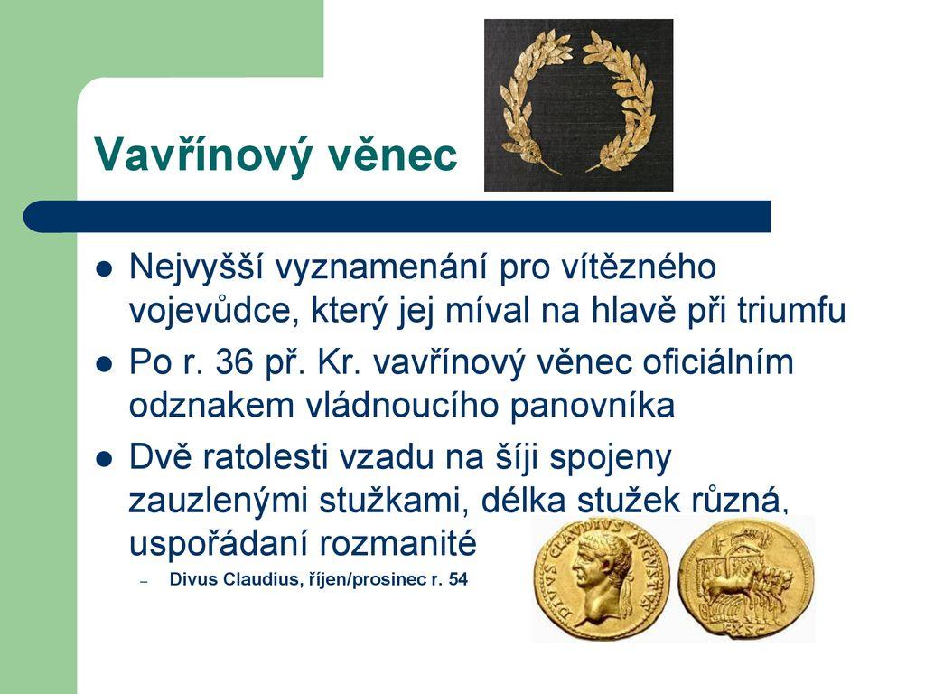 Římské mince. - ppt stáhnout e5275b9f80